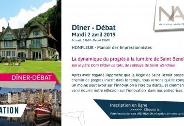 """Dîner Conférence """"Progrès et Innovation"""""""
